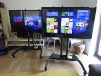 Dotykové obrazovky, dotykové televize