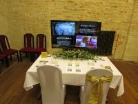 Dotyková TV na veletrhy, výstavy, expozice